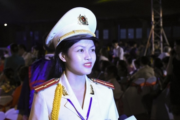 Thủ khoa kép trường Học viện Cảnh sát nhân dân