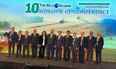 Hapro xúc tiến xuất khẩu tại Hội nghị Gạo thế giới lần thứ 10 và Hội nghị Gạo quốc tế Việt Nam 2018