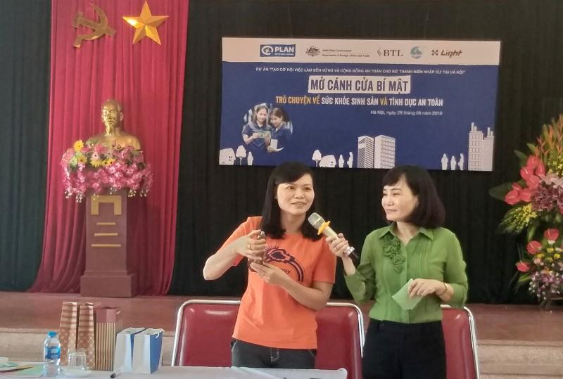 Đồng hành vì sức khỏe công nhân nữ