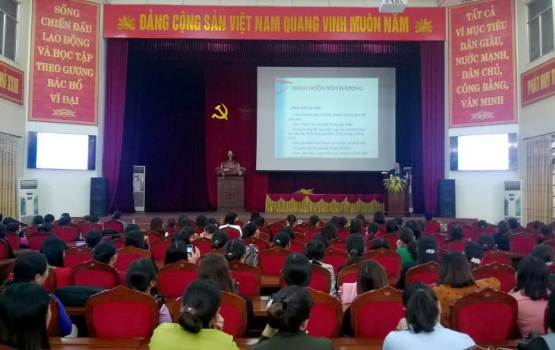 LĐLĐ huyện Ứng Hòa: Thành lập Câu lạc bộ Nữ công