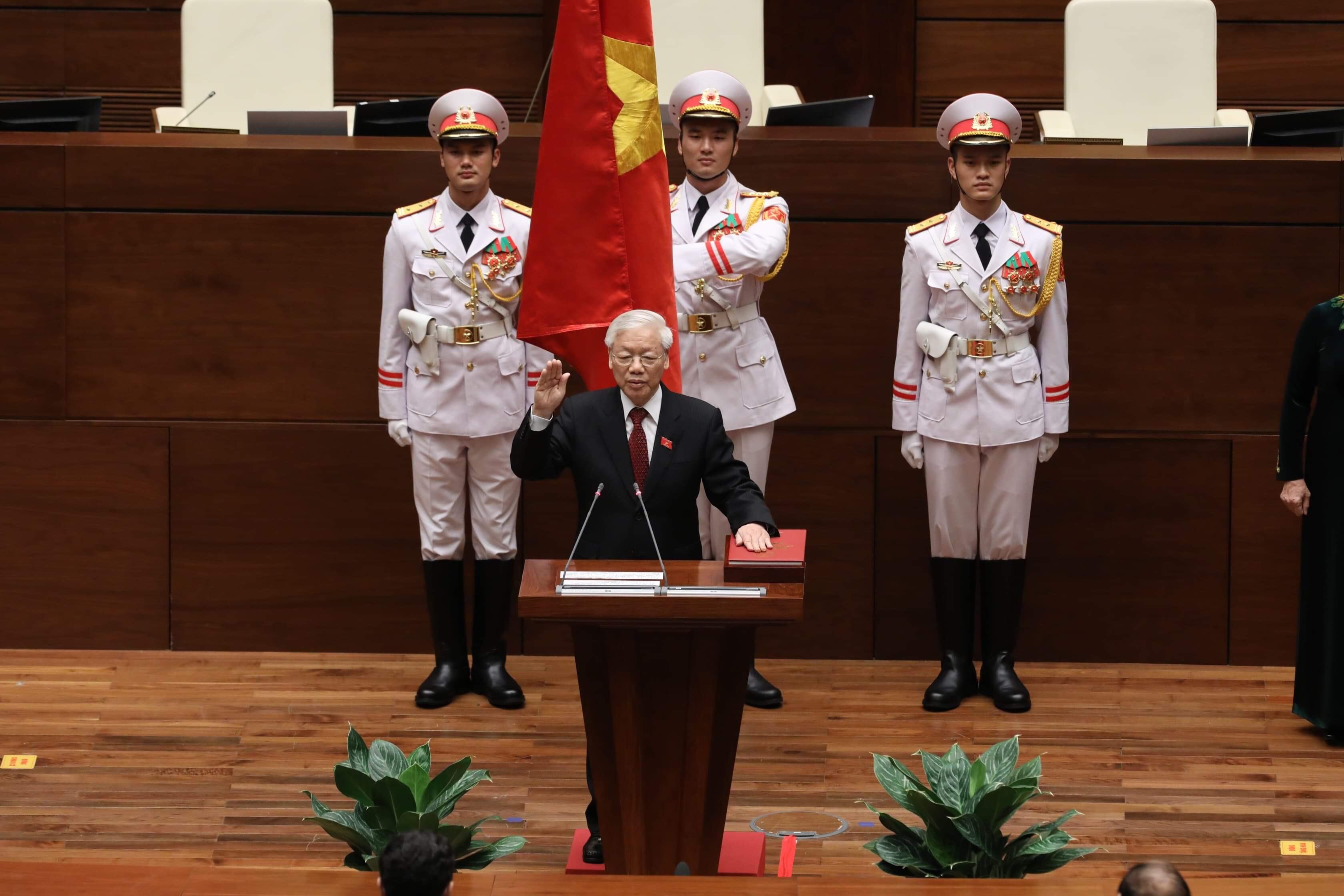 Báo nước ngoài đồng loạt đưa tin Tổng Bí thư Nguyễn Phú Trọng được bầu làm Chủ tịch nước