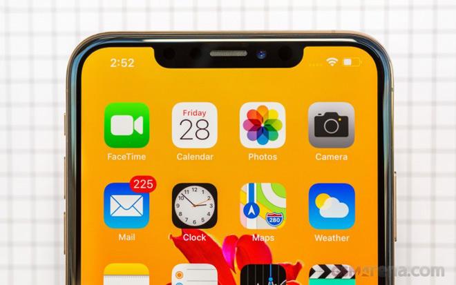 iphone xs max se duoc sua loi camera truoc