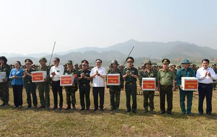 Diễn tập khu vực phòng thủ thành phố Hà Nội năm 2019: Thành công tốt đẹp