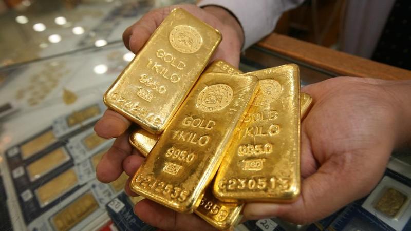 Giá vàng trong nước và thế giới đồng loạt tăng mạnh