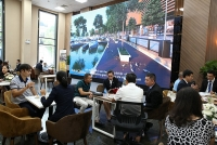 Giới đầu tư Hà Nội hào hứng với đô thị sinh thái thông minh Aqua City