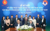 Vingroup và VFF ký Thỏa thuận hợp tác chiến lược nhằm hỗ trợ phát triển bóng đá Việt Nam