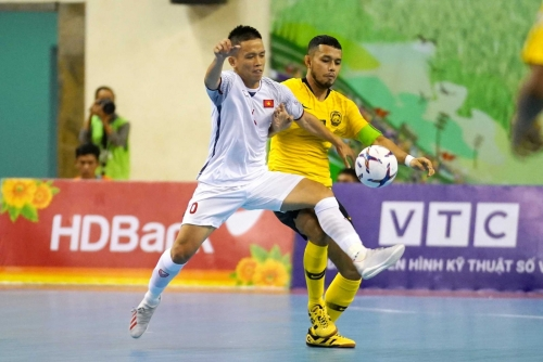 Futsal Việt Nam vẫn còn nhiều cơ hội giành tấm vé tham dự giải châu lục
