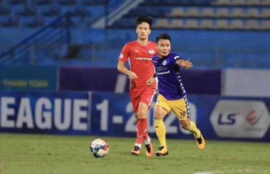 Hà Nội FC gặp nhiều bất lợi trong cuộc đua vô địch V-League 2020