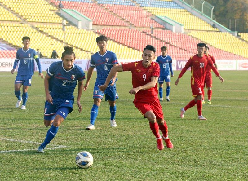 Thắng nhọc nhằn Đài Bắc Trung Hoa, U23 Việt Nam để lại nhiều nỗi lo