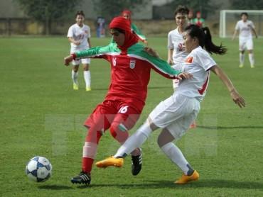 U19 nữ Việt Nam đoạt vé dự vòng chung kết U19 nữ châu Á 2017
