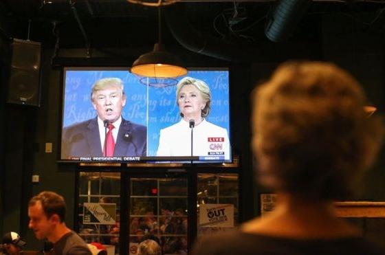 Bầu cử Mỹ 2016 suýt phá kỷ lục về số người xem truyền hình
