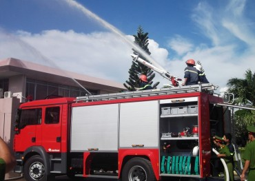 Tổng rà soát xong công tác phòng cháy, chữa cháy