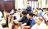 Đại biểu HĐND TP Hà Nội tiếp xúc cử tri:  Vẫn là các vấn đề dân sinh