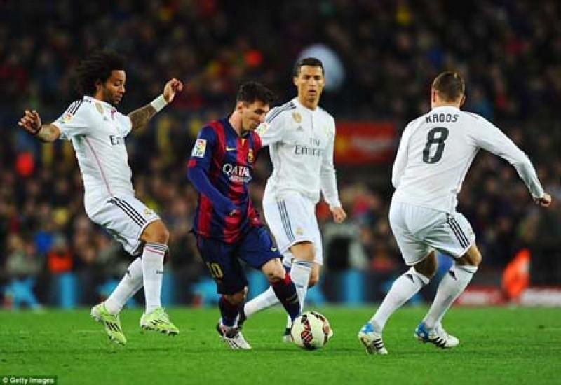 Cuộc thư hùng giữa hai ngã khổng lồ Real Madrid và Barcelona sẽ diễn ra vào giờ vàng