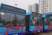 Hà Nội lần đầu tiên đưa vào khai thác xe buýt có kết nối GPS