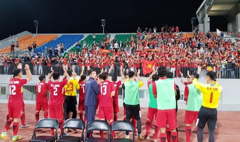 Toàn thắng ở vòng loại, U19 Việt Nam hiên ngang tiến vào VCK U19 châu Á 2018