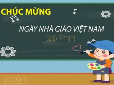 Lời chúc Ngày Nhà Giáo Việt Nam 20.11 bằng tiếng Anh và tiếng Việt hay và ý nghĩa
