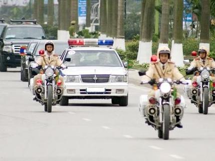 Phân làn đường Hà Nội dịp đón Tổng thống Donald Trump