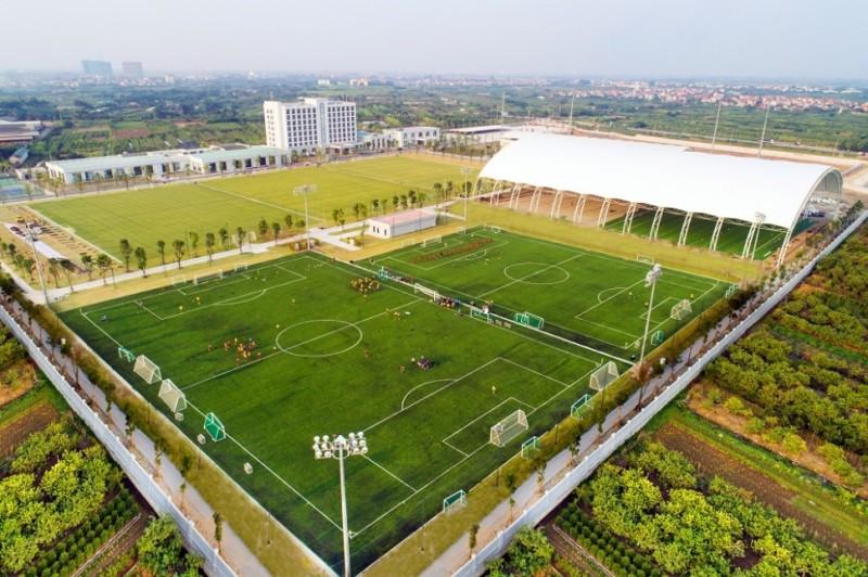 Sắp khánh thành Trung tâm Đào tạo bóng đá trẻ hàng đầu Đông Nam Á