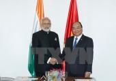 Việt Nam và Ấn Độ nhất trí đẩy mạnh hợp tác song phương