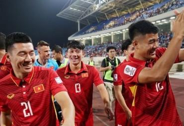 Đội tuyển Việt Nam giành tấm vé lịch sử tham dự VCK Asian Cup 2019
