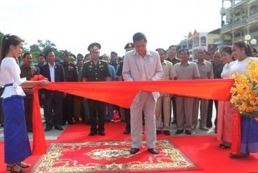 Hoàn thành trùng tu Đài hữu nghị Việt Nam - Campuchia tỉnh Stung Treng