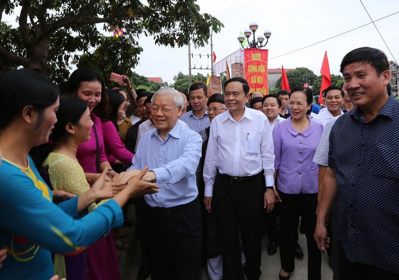 Tổng Bí thư Nguyễn Phú Trọng: Làm tốt hơn nữa công tác đại đoàn kết