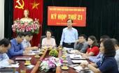 LĐLĐ quận Hoàn Kiếm: Chỉ đạo đại hội công đoàn cơ sở vượt kế hoạch