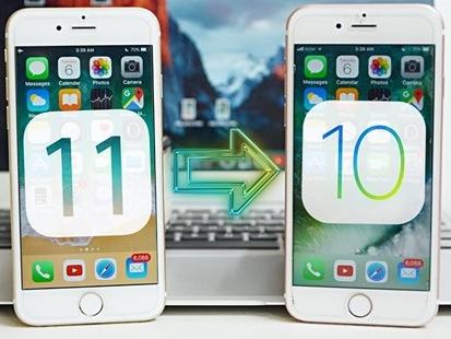 Cách hạ cấp iOS 11 về iOS 10.3.3 để tránh tốn pin