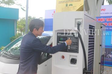 Đà Nẵng có trạm sạc ô tô điện đầu tiên của cả nước
