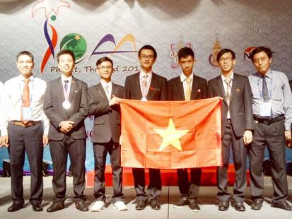 Học sinh Hà Nội đoạt giải Olympic quốc tế thiên văn học và vật lý thiên văn