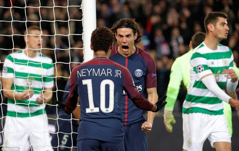 Hủy diệt Celtic, PSG lập kỷ lục mới ở vòng bảng Champions League