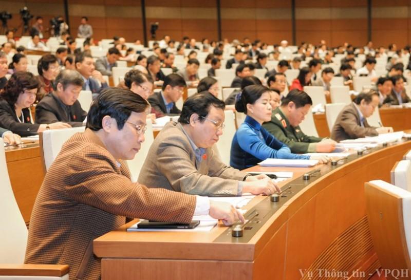 Quốc hội biểu quyết thông qua Luật Quy hoạch