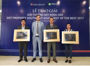 MIKGroup là đơn vị phát triển BĐS sáng tạo nhất Đông Nam Á