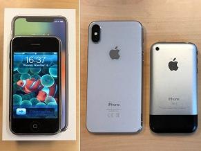 6 điểm khác biệt giữa iPhone X và iPhone đời đầu
