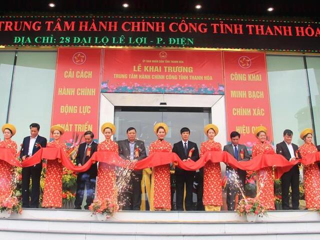 Thanh Hóa: Khai trương Trung tâm Hành chính công