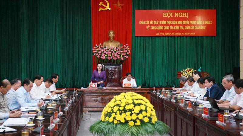 Hà Nội đạt nhiều kết quả trong công tác kiểm tra