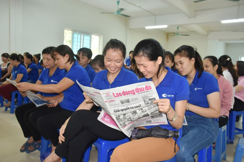 Nỗ lực nâng cao kiến thức cho công nhân