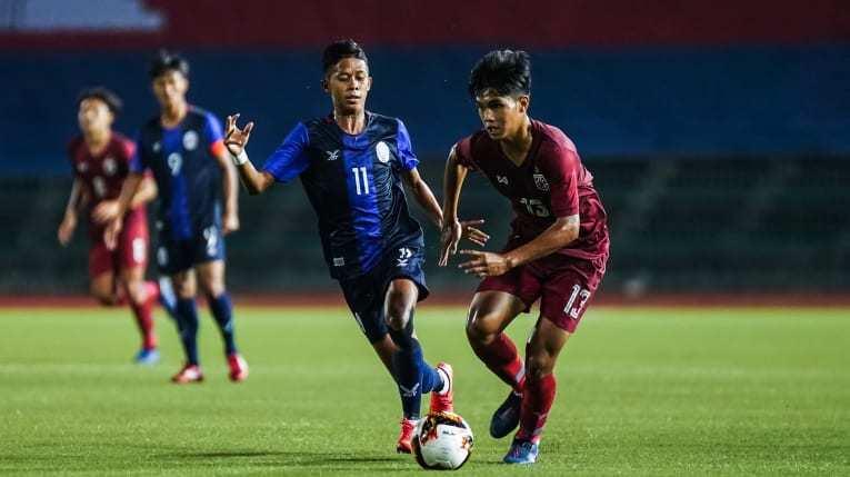 Thua sốc Campuchia, Thái Lan có nguy cơ bị loại sớm tại giải châu lục