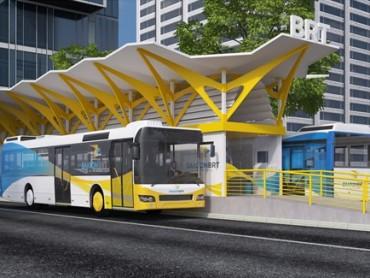 Người dân Hà Nội được đi buýt nhanh BRT miễn phí trong một tháng