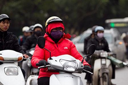 Miền Trung mưa lớn diện rộng 3 ngày liên tiếp, nhiệt độ Hà Nội xuống 14 độ C