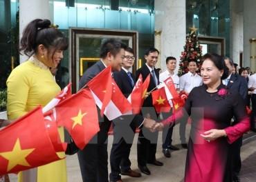 Chủ tịch Quốc hội kết thúc tốt đẹp chuyến thăm Singapore và Australia