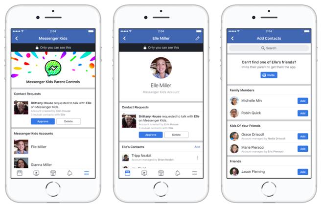 Facebook ra mắt ứng dụng chat Messenger dành riêng cho trẻ em