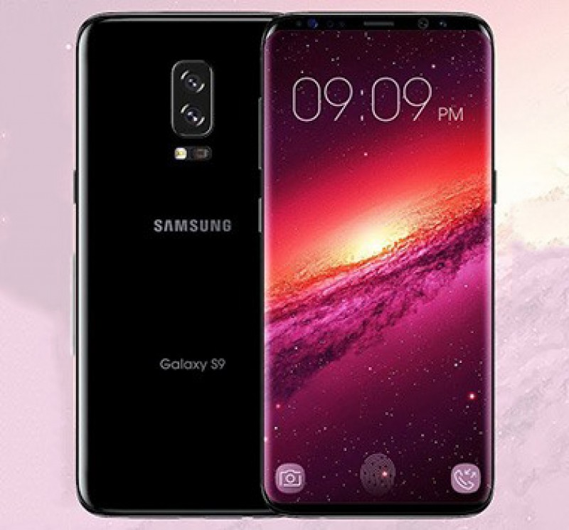 Samsung Galaxy S9 thể hiện sự đột phá về thiết kế màn hình