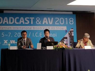 Triển lãm quốc tế về Phát thanh truyền hình lần đầu được tổ chức tại Hà Nội