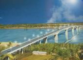 Thống nhất chiều cao cầu vượt sông Văn Úc