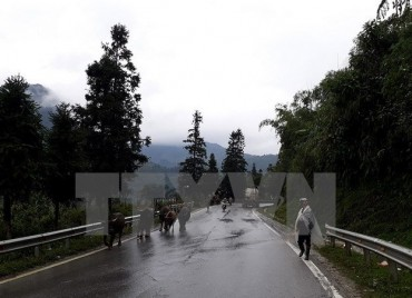 Bắc Bộ và Trung Bộ mưa rét, vùng núi cao nhiệt độ dưới 8 độ C