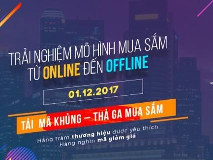 2,8 triệu lượt truy cập mua sắm trong ngày Online Friday 2017