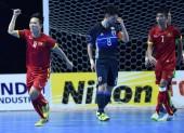 Đội tuyển Futsal Việt Nam có nhiều cơ hội vào tứ kết giải châu lục
