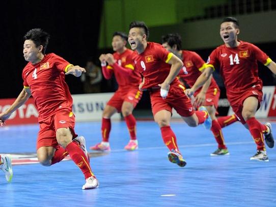 Futsal Việt Nam rơi vào bảng nhẹ nhất tại VCK futsal châu Á 2018